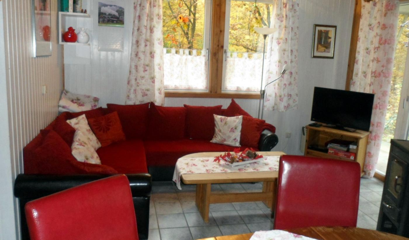sitzecke wohnzimmer : Haus Igel Ferienh User Im Extertal